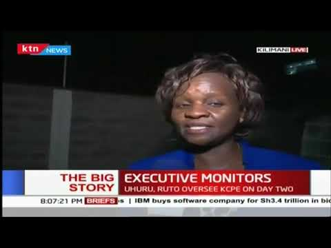 The Big Story: Cabinet Secretaries oversee KCPE on day two