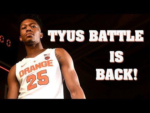 Game Faces: Tyus Battle previews Syracuse basketball's 2018-19 season (video)