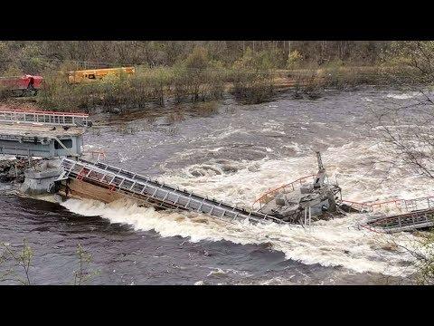 Массовые паводки в Мурманске. Мобилизованы все силы