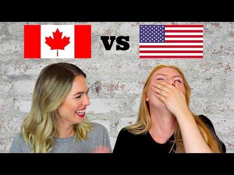 Accent Tag With Rebecca Morgan | Canada Vs. USA | Surprising Differences!