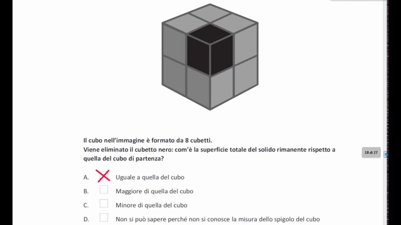 Soluzione Prova Invalsi Di Matematica 2017 Terza Media Youtube