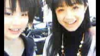 February 2nd, 2007 Nacchan and MaiMai mix up some kind of candy or ...