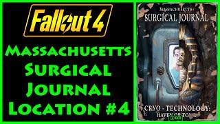 Fallout 4 - Massachusetts Surgical Journal - Greater Mass Blood Clinic - 4K Ultra HD
