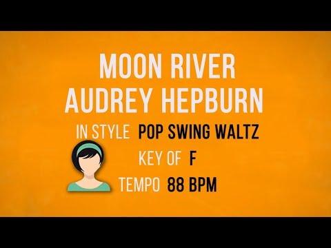 Moon River - Karaoke Female Backing Track