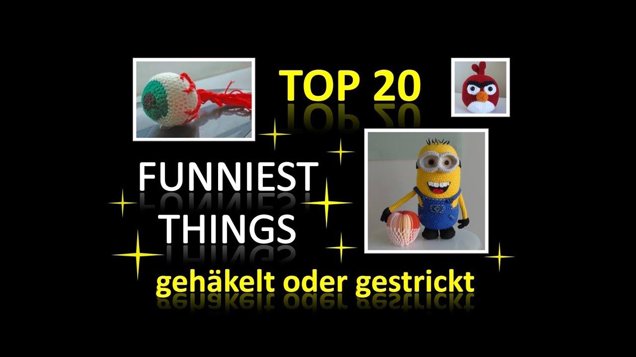 Häkeln Stricken - TOP 20 lustige Sachen - YouTube