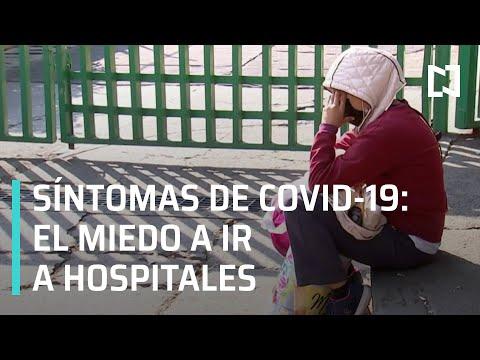 ¿Cuándo ir al hospital por Covid-19? | Miedo a ir al hospital por Covid-19 - En Punto
