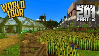 Let's Play Minecraft PE - Ep.201 : World Tour + Download! (Part 2)
