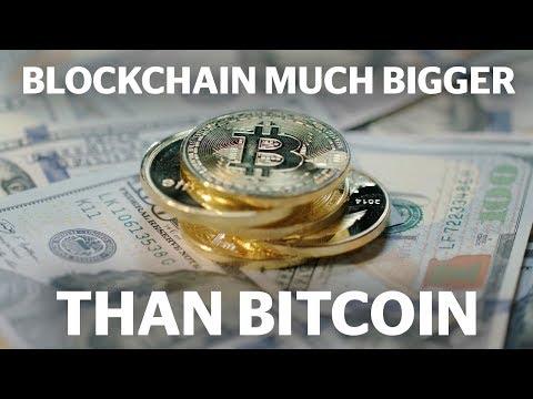 Blockchain Much Bigger Than Bitcoin | Innovation Nation
