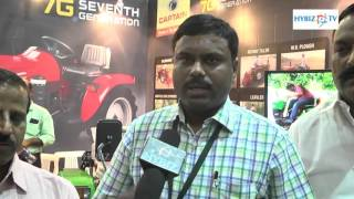 Praveen Kumar - Captain Tractors - Agriculture and Horticulture Exhibition