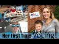 ELECTION DAY // FIRST TIME VOTING! //  VLOG