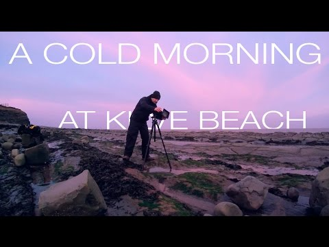 A Cold Morning At Kilve Beach - Lee Big stopper