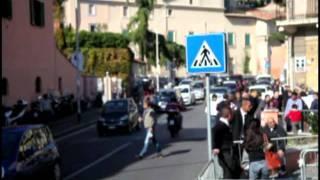 Trony. Traffico tra viale Tor di Quinto e Ponte Milvio