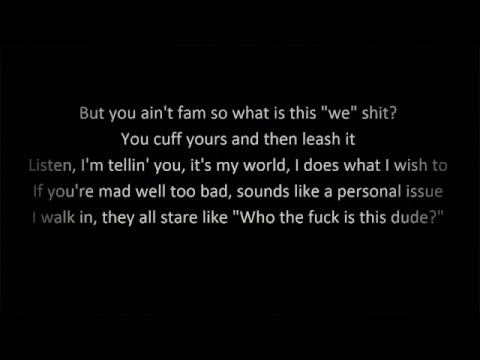 I Mean It - G Eazy (Lyrics)