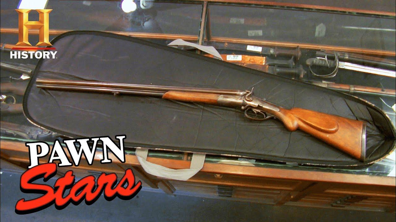Pawn Stars: 3-BARREL ELEPHANT GUN is in ROUGH Condition (Season 5) | History