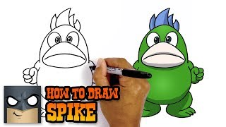 How to Draw Spike | Super Mario (Art Tutorial)