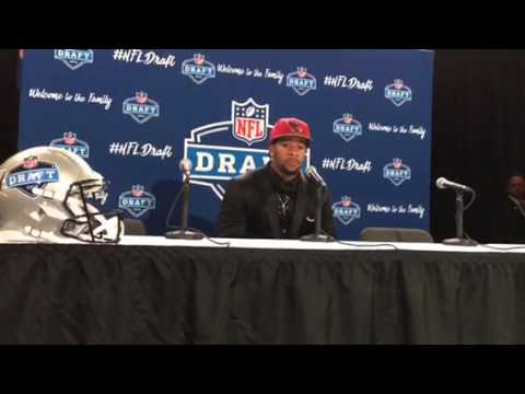 Robert Nkemditche Arizona Cardinals NFL Draft 1st Round Pick Interview #NFLDraft