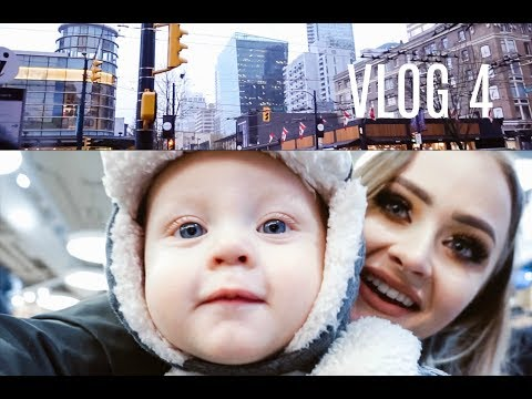 VLOG 4 : Shopping in Vancouver with my friend Hailey | styledbymarcedys