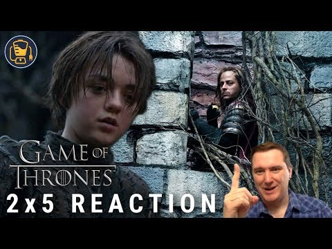 """Game of Thrones Reaction   2x5 """"The Ghost of Harrenhal"""""""
