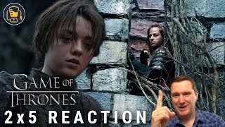 Game of Thrones Reaction | 2x5