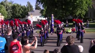 Worthington MN Marching Band 2014 - Les Miserables