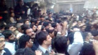 zafarwal 10th muharram zanjerzani