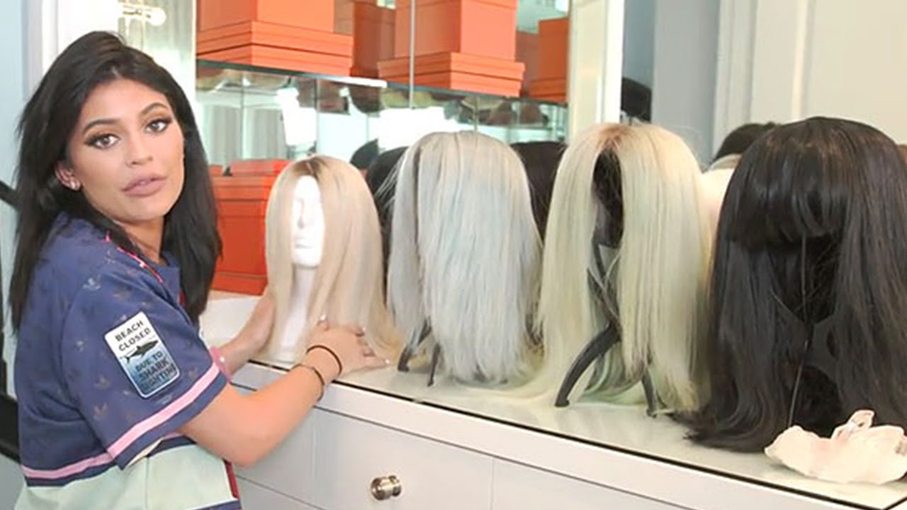 Kylie Jenner Shows Off Her Wig Collection Gives Tour Of Glam Room You