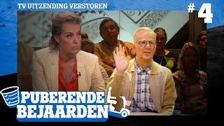 TV Uitzending Verstoren   Puberende Bejaarden #4
