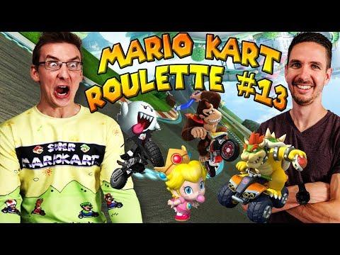 Mario Kart Roulette #13: SPECIAL EDITION BATTLE (feat. J, Ben, DK and Kallie)