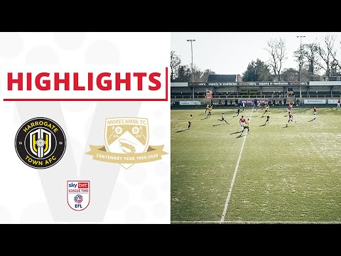 Harrogate Morecambe Goals And Highlights
