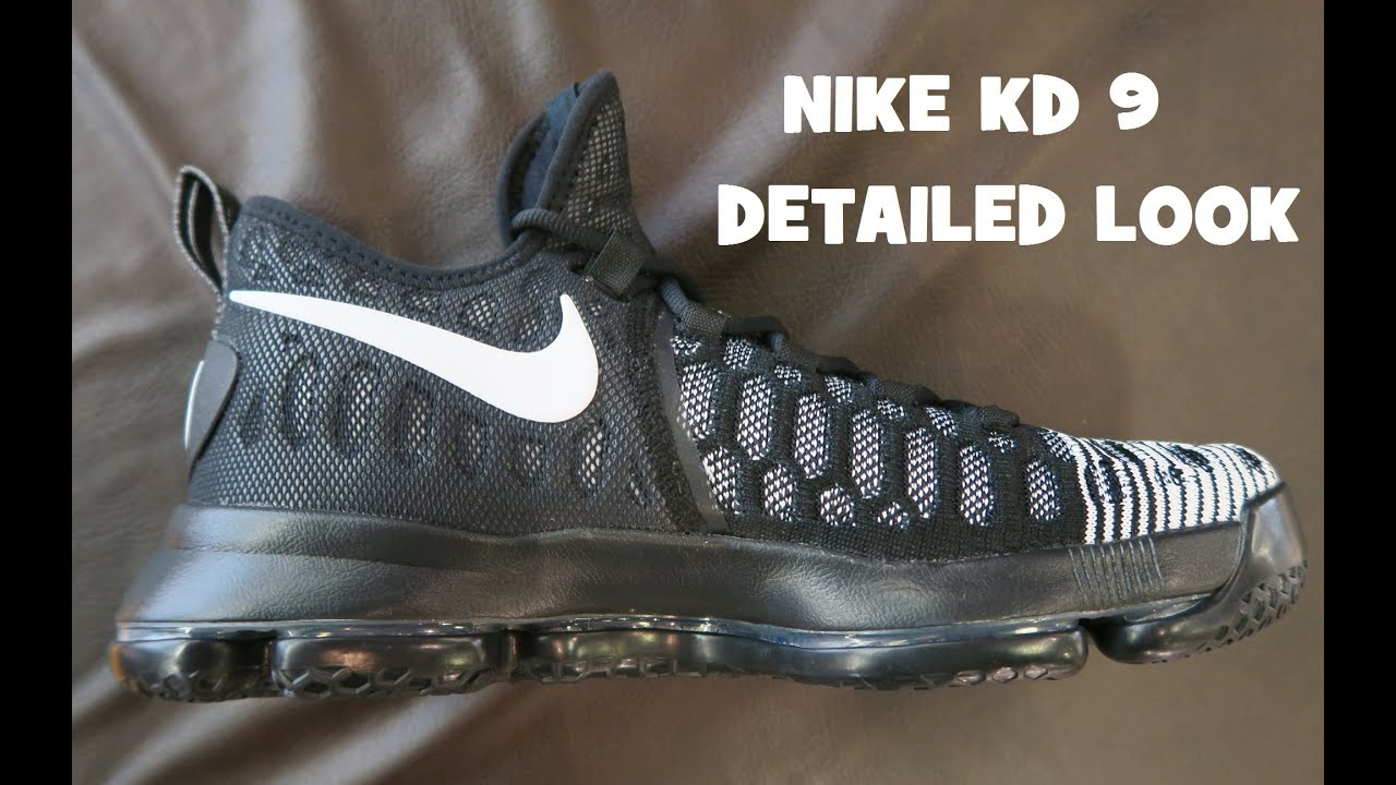 3bb905bcbe1a Nike KD 9  Mic Drop  Sneaker Detailed Look Review With Dj Delz - YouTube