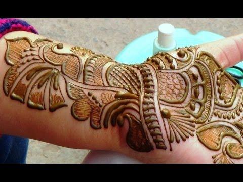 Best Indian Arabic Henna Mehendi 2014 Bridal Makeup Shringar