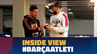 [BEHIND THE SCENES] Barça 2-0 At. Madrid from the inside