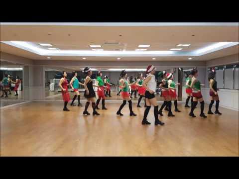 Jingle Bell Rock(AB) Line Dance(Beginner Level)