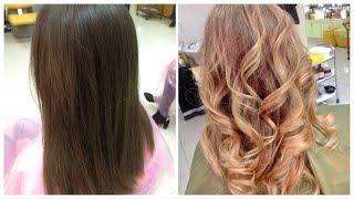 видео Карамельный цвет волос: фото и как добиться оттенка карамели на прядях