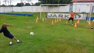 Treinamento de Goleiro Gabriel Silva, 13 anos.
