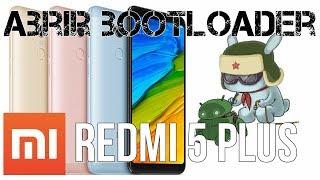 Abrir bootloader utilizando el Xiaomi Redmi 5 plus