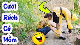 Con Khỉ - Tôn Ngộ Không Nghịch Ngu Và Thằng Bát Giới Ăn Hại Troll Gái Xinh | XEM LÀ CƯỜI