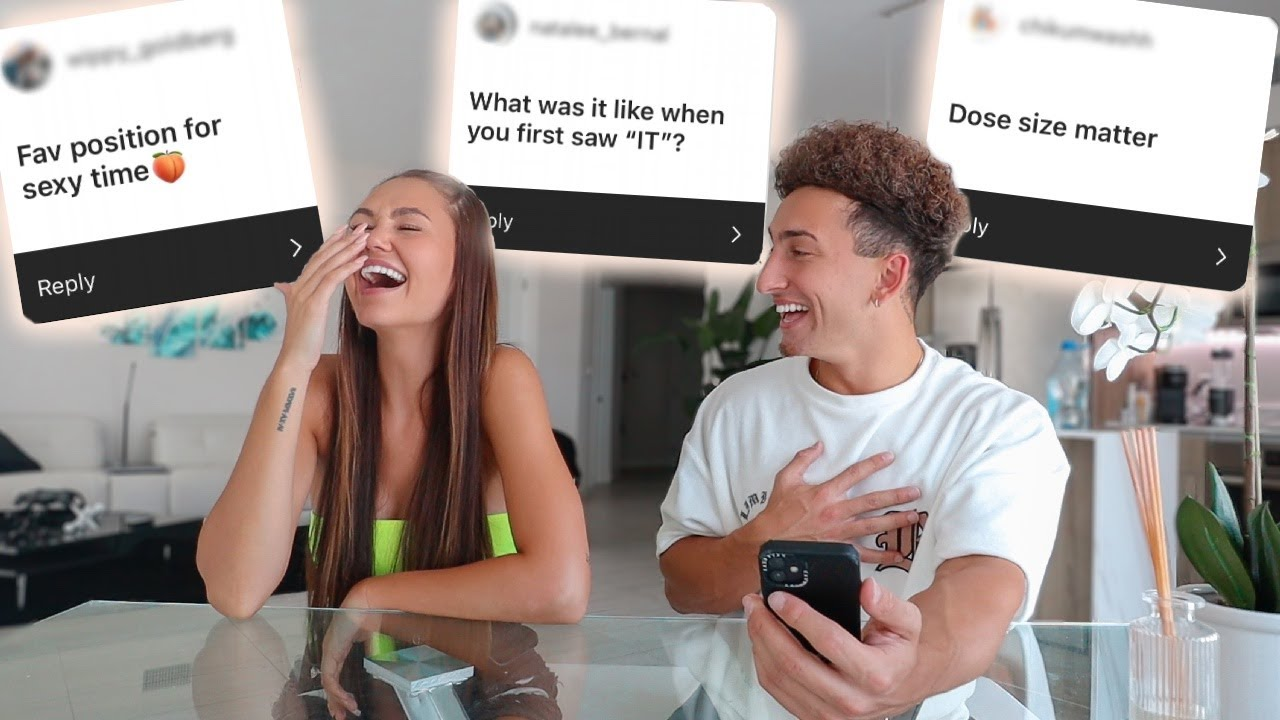 ASKING MY FIANCÉ *JUICY* QUESTIONS GUYS ARE TOO AFRAID TO ASK!!