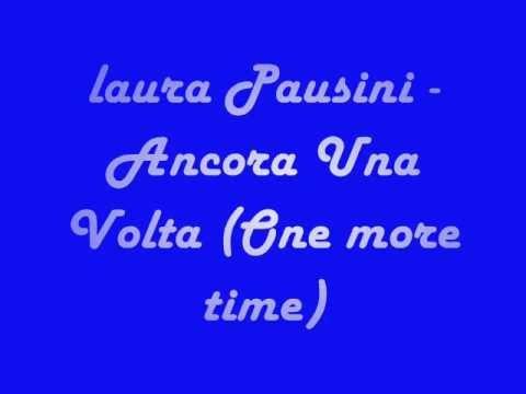 Laura Pausini One more time (traduzione)