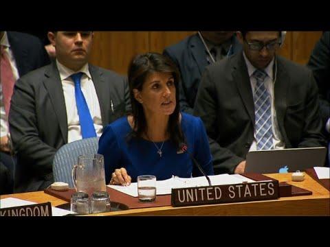 """ONU/Syrie: Washington """"prêt à dégainer"""" à nouveau"""
