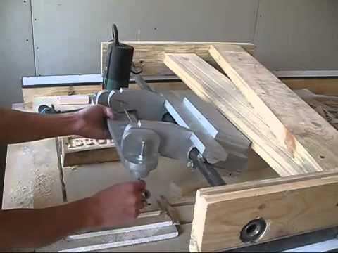 Сделать своими руками копировальный станок по дереву 89