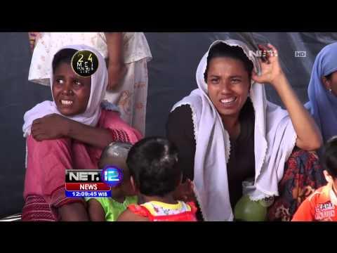 Ratusan Pengungsi Rohingya Mendapat Izin Tinggal di Medan - NET12