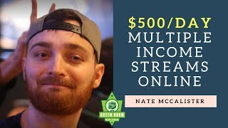 From Reselling To $500 a Day With Multiple Income Streams Online With Nate McCallister thumbnail