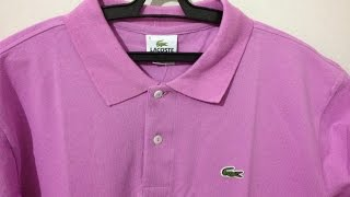 UNBOXING #31 Camisa Polo Lacoste Aliexpress