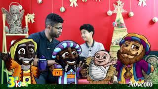 3ª Kids | Advento | Alegria | Natal de Jesus | Nascimento de Jesus, o Salvador!