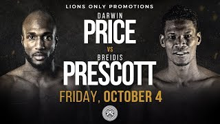 Price vs Prescott — Presented by Lions Only Promotions
