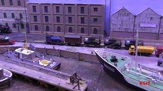 Southampton Model Railway Exhibition 2019 Part 1