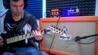 orange bax bangeetar pre eq metal song