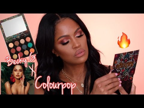 BECKY G X COLOURPOP COLLECTION REVIEW + SWATCHES Mp3