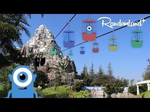 Disneyland's Skyway - Abandoned Remains And History -